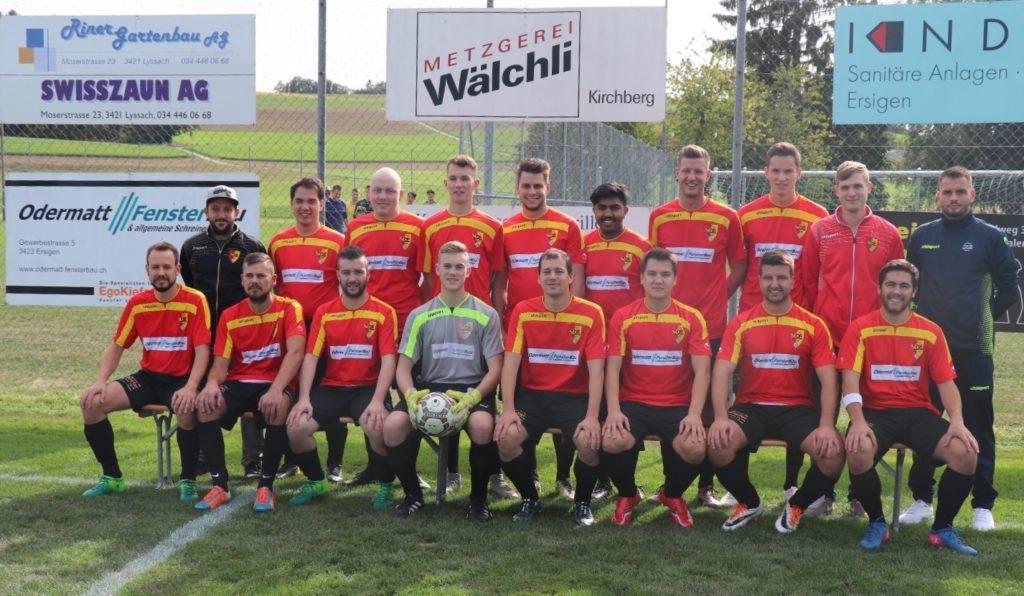 2. Mannschaft SC Ersigen