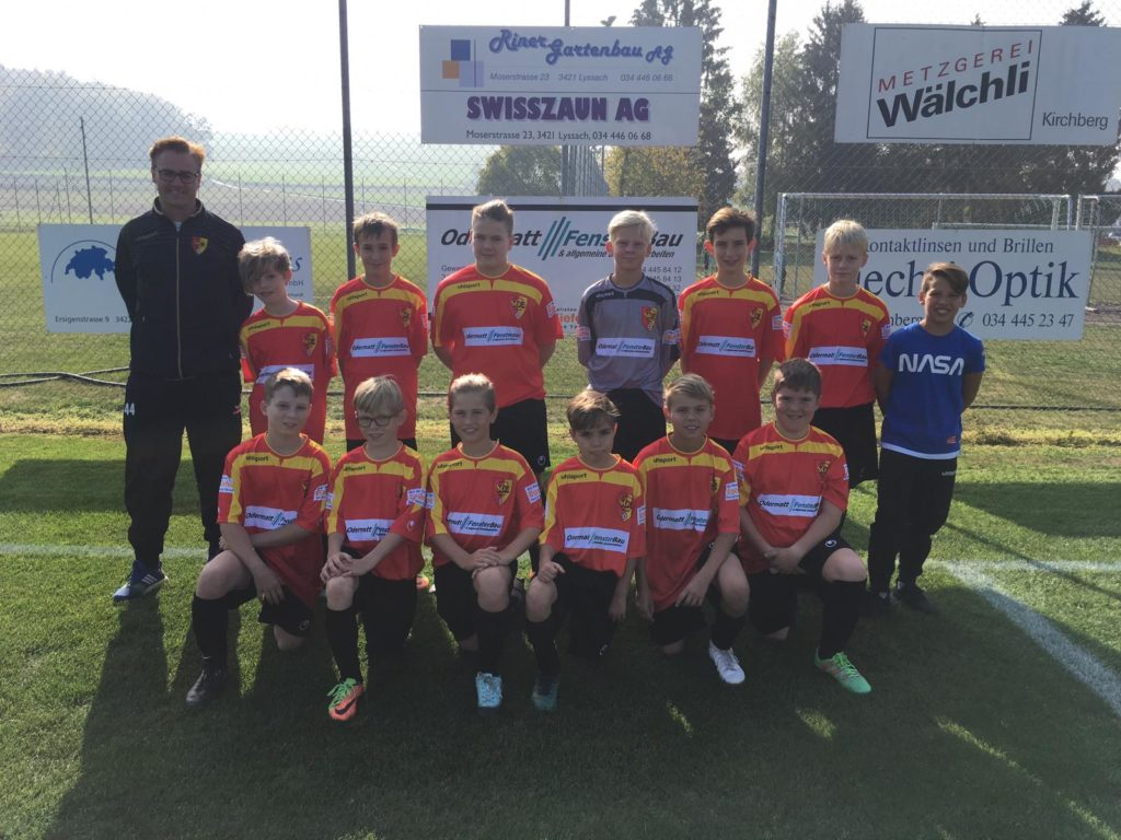 D Junioren SC Ersigen