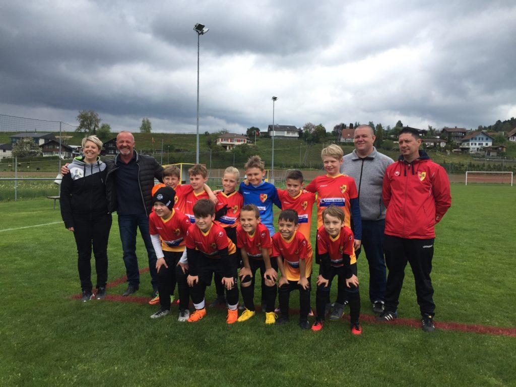 Neues Match-Dress für E-Junioren SC Ersigen