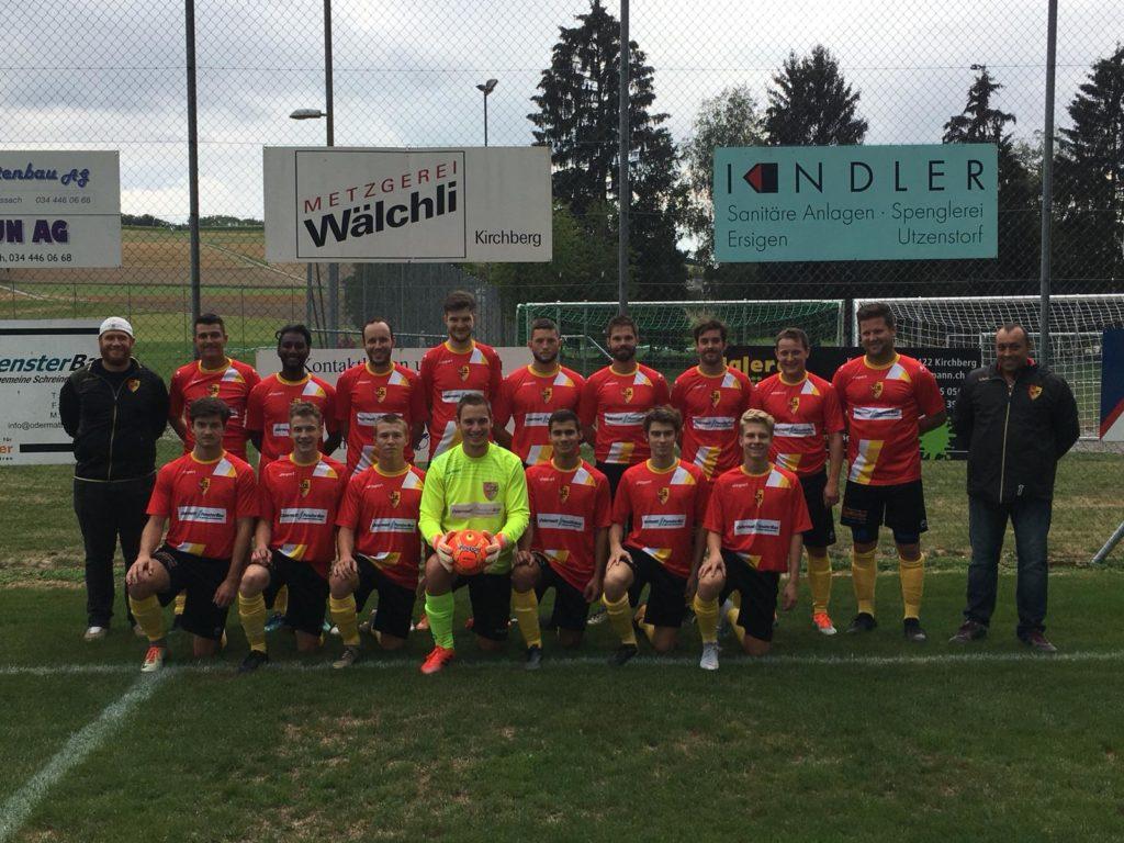 1. Mannschaft SC Ersigen