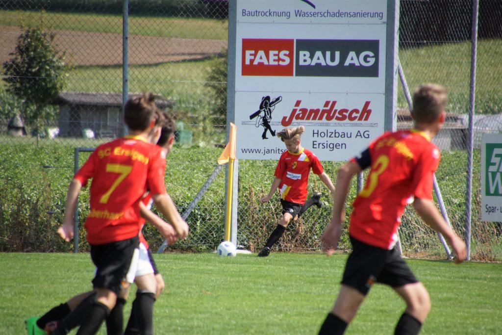 Match-Bilder der Junioren B